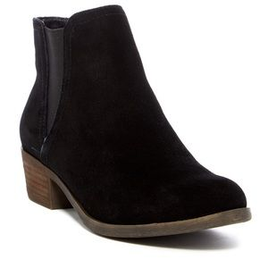Kensie GARRY black suede ankle boots bootie